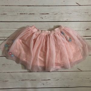 *5 for $25* Carter's pink tool floral skirt